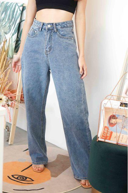 (BACKORDER) All Legs Wide Legged Jeans in Blue