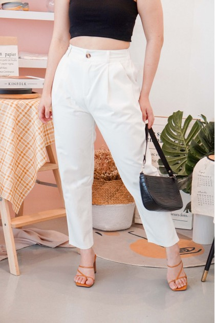 (BACKORDER) Cali Streets Pants in White